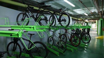 Son 56 cicloparqueaderos con los que cuenta la Secretaría de Ambiente de Bogotá.