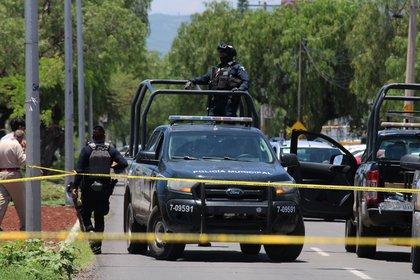 Otros lugares donde se contabilizaron homicidios fueron Uriangato, San Luis de la Paz, Villagrán, Salamanca y Valle de Santiago (Foto: EFE/ Str/Archivo)