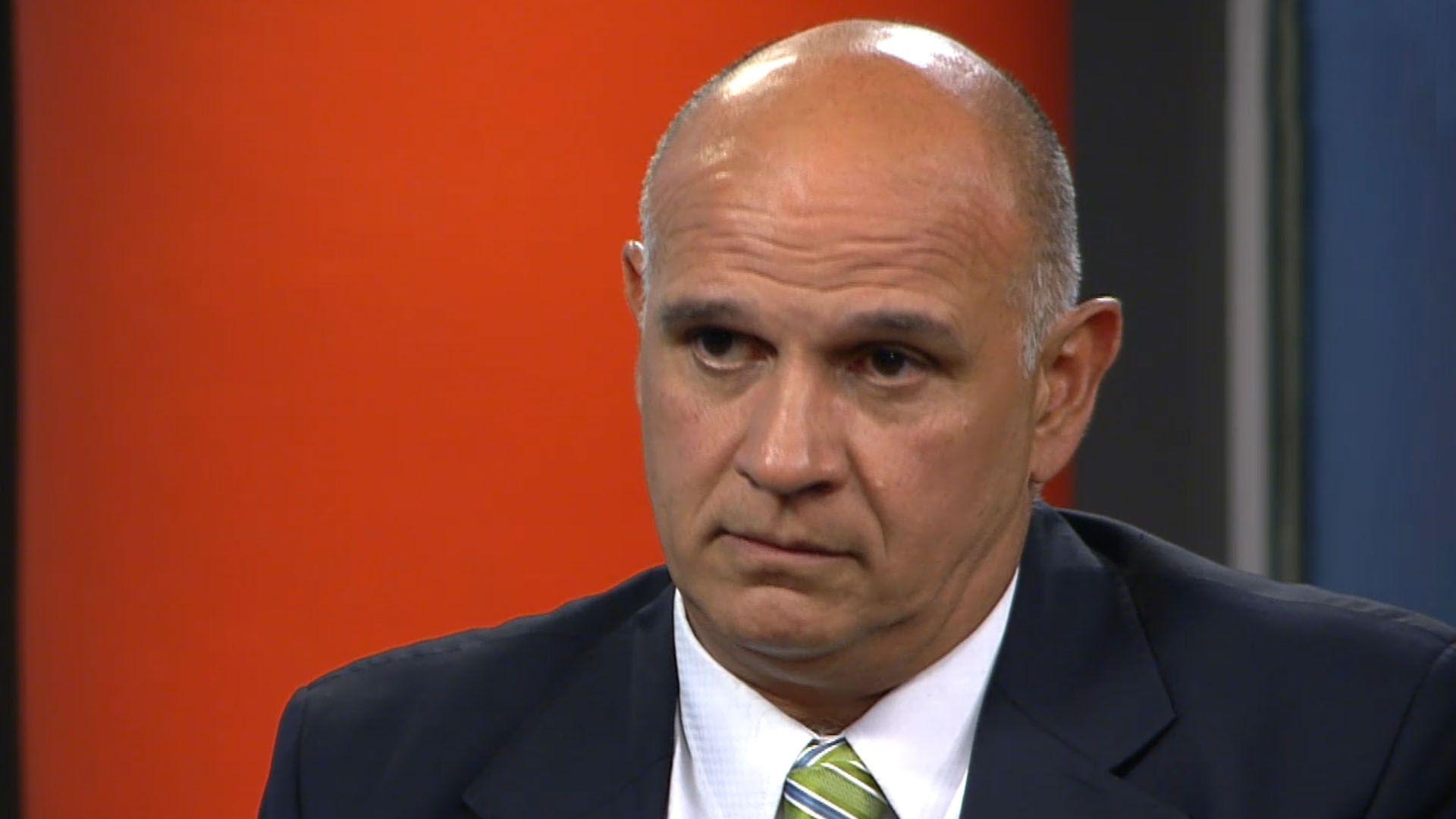 Carlos Rívolo, de la Asociación de Fiscales