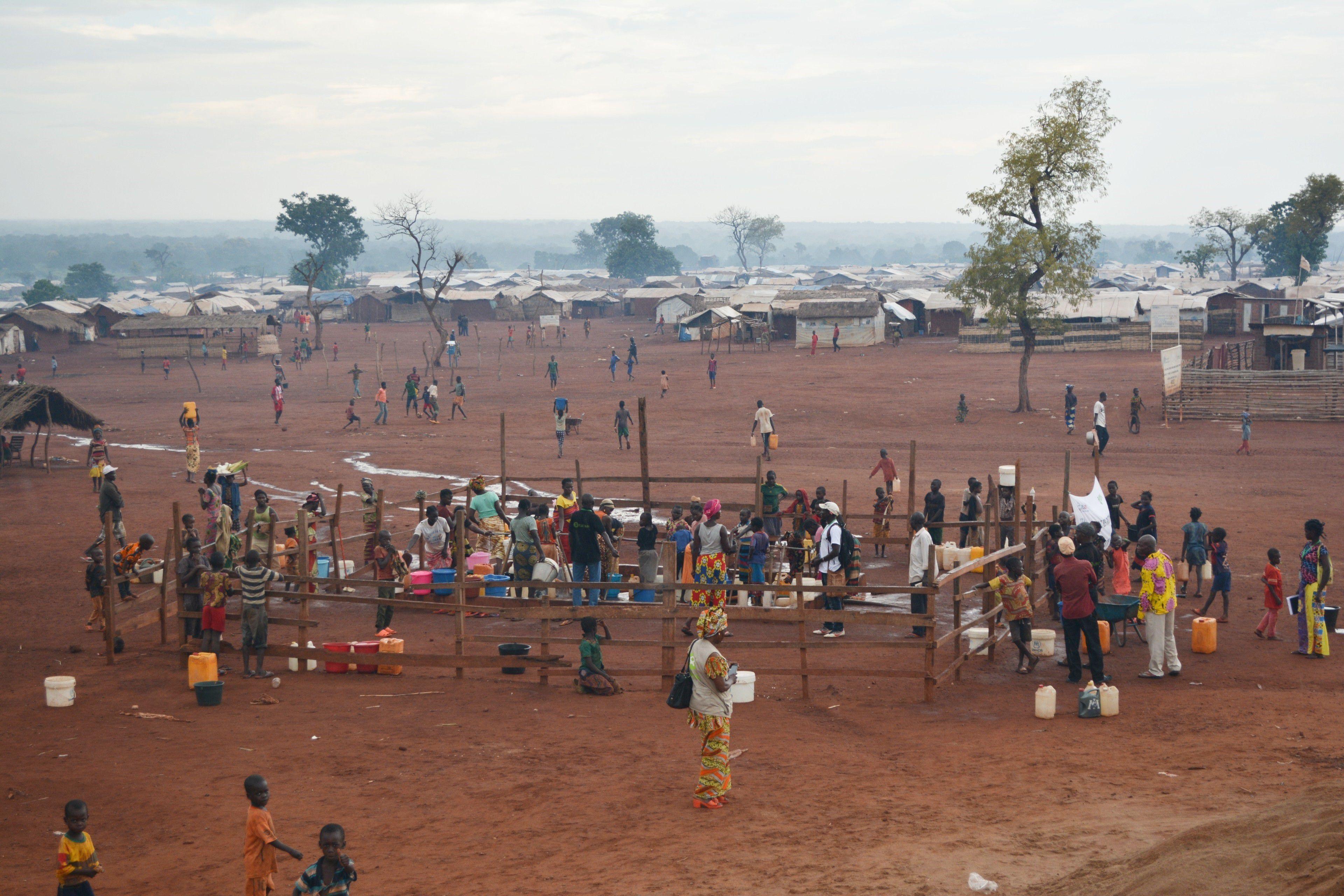 20/10/2020 Campo de personas desplazadas en Bria, República Centroafricana POLITICA AFRICA INTERNACIONAL REPÚBLICA CENTROAFRICANA OXFAM/AURÉLIE GODET