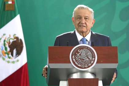El presiente externó su pésame a los más de 60,000 muertos que ha dejado la enfermedad de coronavirus en México (Foto: Presidencia de México)