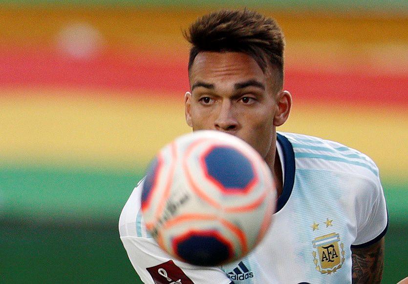 Lautaro Martínez es una de las figuras de la selección argentina. Foto: Juan Karita/Pool via Reuters
