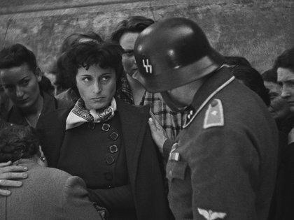 """Ana Magnani en """"Roma, ciudad abierta"""""""
