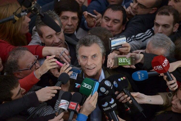 ¿Qué hará Mauricio Macri en el 2021? Es una de las dudas que da vuelta en las arterias de Juntos por el Cambio (EFE/Martin Di Maggio/Archivo)