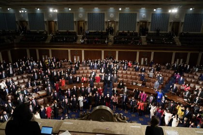 La Cámara de Representantes de los Estados Unidos. Foto: REUTERS/Joshua Roberts
