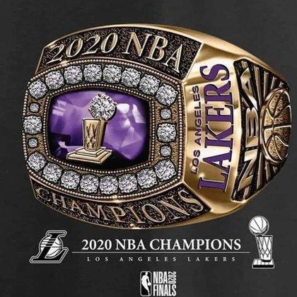 Se filtró el anillo de campeón de Los Ángeles Lakers