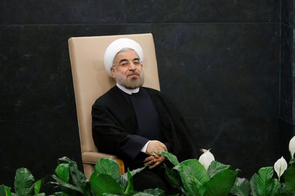 El presidente iraní, Hassan Rohani, en la Asamblea General de la ONU (Reuters/archivo)