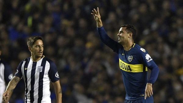 Edwin Cardona vuelve a la lista de concentrados de Boca por la Libertadores (AFP)