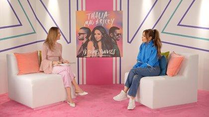 """Thalía estrenó hace algunas semanas el video de la canción """"Ya tú me conoces"""""""