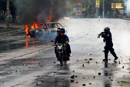 La represión del régimen de Ortega ya dejó más de 300 muertos (REUTERS/Oswaldo Rivas TPX IMAGES OF THE DAY)
