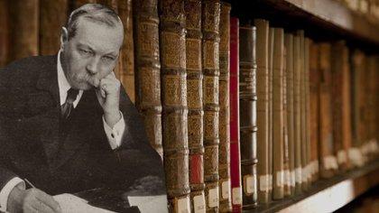 400 libros de y sobre Sir Arthur Conan Doyle en la Biblioteca Nacional