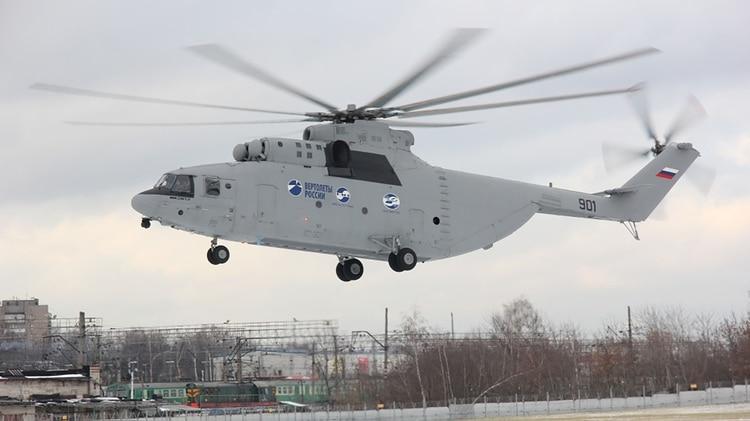 China ya ha mostrado su interés en adquirir el nuevo Mi-26 ruso