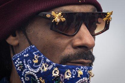 En la imagen, el rapero estadounidense, Snoop Dogg. EFE/EPA/CHRISTIAN MONTERROSA/Archivo
