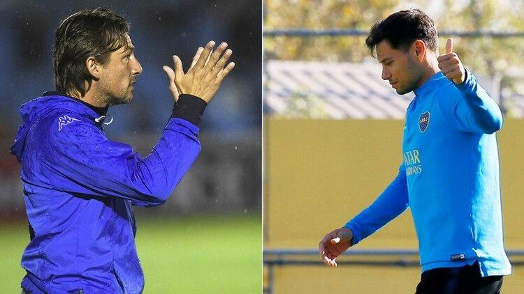 La tajante respuesta de Gabriel Heinze sobre el posible regreso de Mauro Zárate al Amalfitani (Foto: Télam y Boca Juniors)