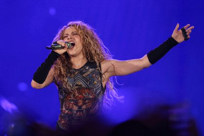 La cantante colombiana Shakira. EFE/Miguel A. Lopes/Archivo