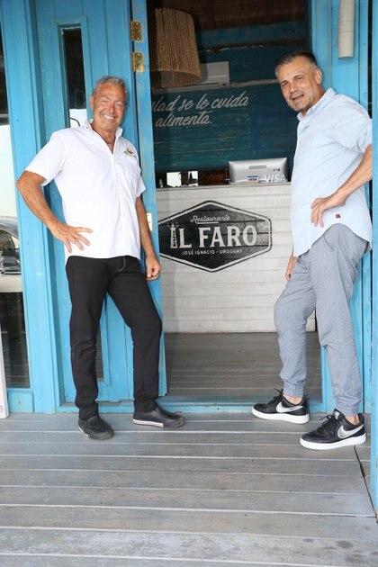 """Alessandro Tridenti y Jorge Vázquez recibieron a Infobae en la tercera exitosa temporada de """"Il Faro Restaurante"""", que ya se convirtió en un clásico de José Ignacio"""