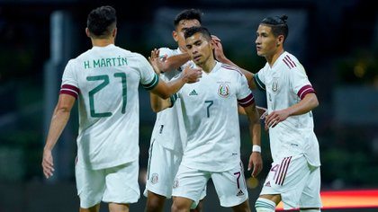 Al final, la selección mexicana venció por tres goles a su similar de Guatemala (Foto: Twitter /@miseleccionmx)