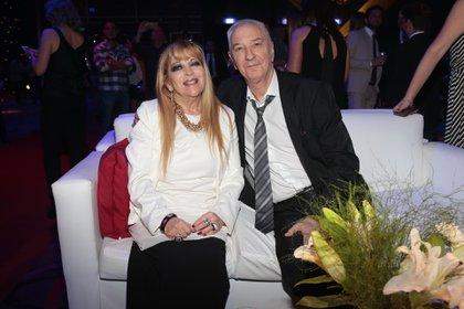 Mauro Viale y su mujer, Leonor