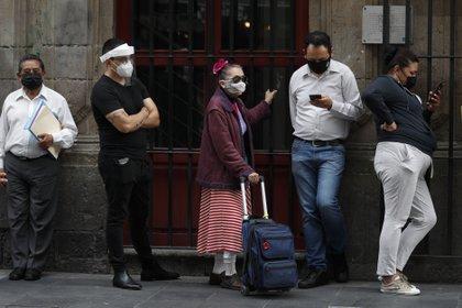 La Ciudad de México continuará con el semáforo epidemiológico en alerta naranja (Foto: AP Photo/Rebecca Blackwell)