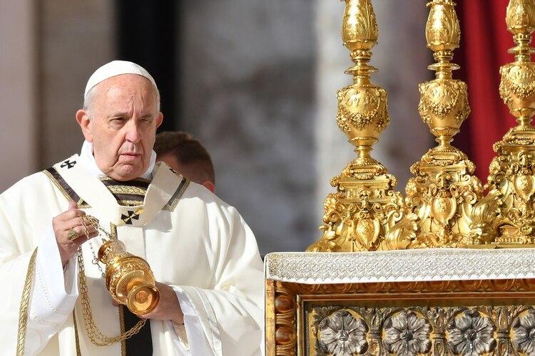 El papa Francisco (Alberto PIZZOLI / AFP)