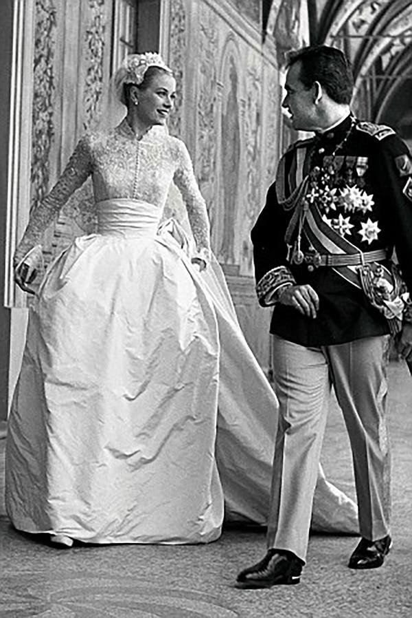 Grace Kelly se casó con el princie Rainiero a los 26 años cuando estaba en la cima de su fama
