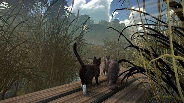 La historia se centra en la desaparición de la humanidad y un grupo de gatos que busca descifrar la razón de su ausencia (Foto: Captura de pantalla de Twitter)
