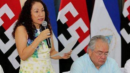"""La doctora Sonia Castro, """"ministra asesora"""" de Salud, está sancionada por Estados Unidos, quien la acusa de crímenes de """"lesa humanidad"""". (gentileza 19 Digital)"""