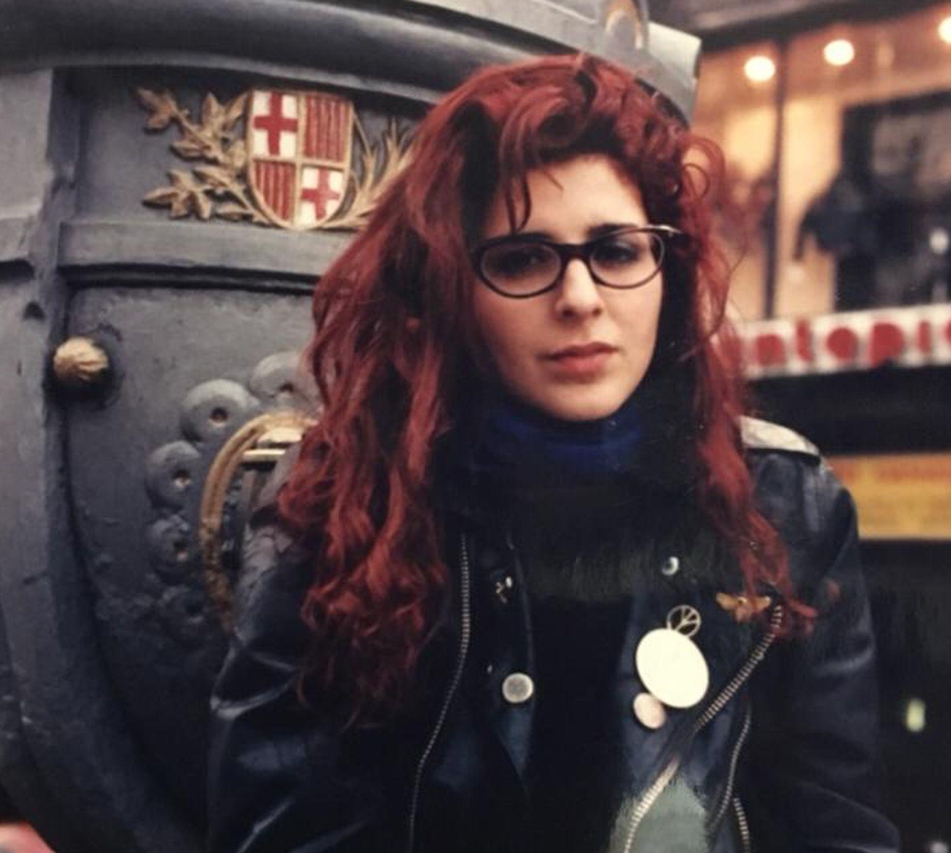 Karina K en Berlín, en 1990