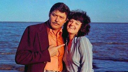 Guy Williams y Araceli Lizaso (Crédito: El Chorrillero)