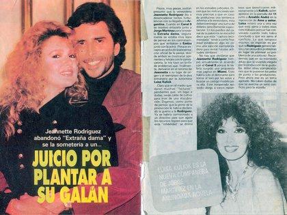"""El anuncio de la llegada de Luisa Kuliok en la revista """"TV Guía"""""""