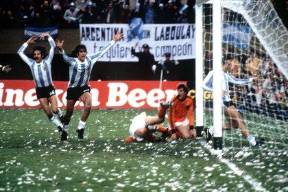 Argentina se consagró campeón del Mundial 1978 (EFE/jg/Archivo)