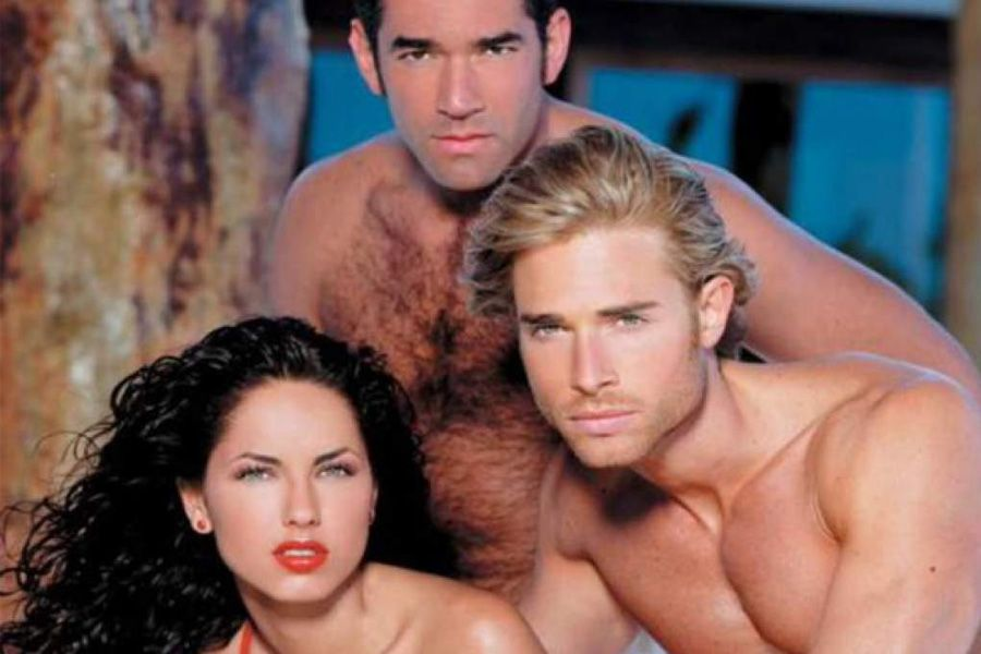 Bárbara Mori, Eduardo Santamarina y Sebastián Rulli (Foto: Televisa)