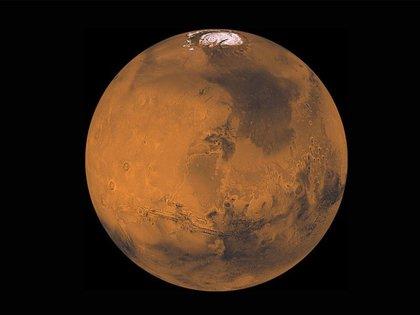 Marte es el planeta rocoso más parecido a la Tierra del Sistema Solar y el único donde el hombre podría visitarlo - NASA/JPL/USGS