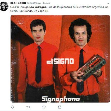 El mensaje de Beat Cairo para Leo Satragno