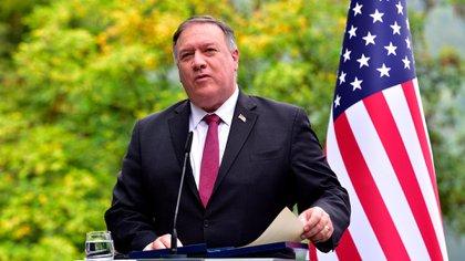 Mike Pompeo, secretario de Estado de Donald Trump
