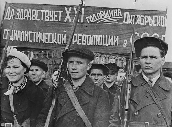 La Revolución Rusa no pudo ser exportada a Europa
