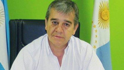 El intendente Oscar Nievas