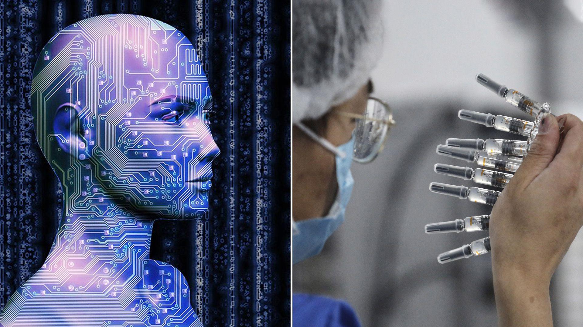 Inteligencia artificial - movimiento antivacunas
