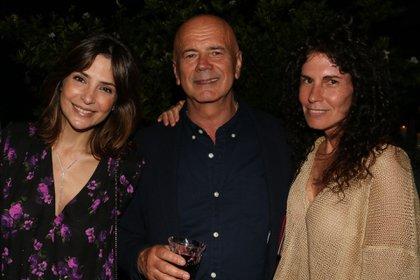 Sandra Hillar, Jorge Telerman y Cynthia Cohen