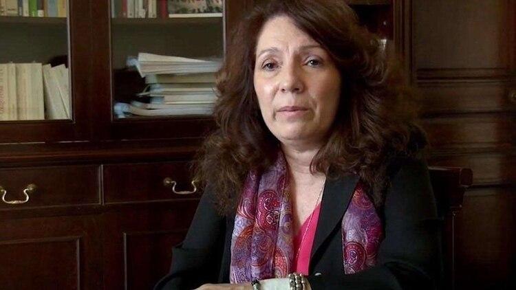 La presidente de Justicia Legítima, Cristina Caamaño