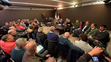 La reunión de intendentes que se llevó a cabo en la provincia de Córdoba