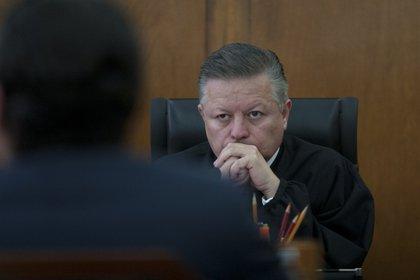 Arturo Zaldívar Ministro Presidente de la Suprema Corte de Justicia de la Nación (SCJN)FOTO: GUILLERMO PEREA /CUARTOCURO.COM