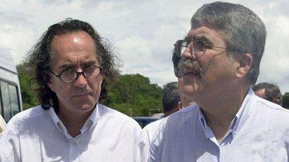 El empresario junto a Julio De Vido