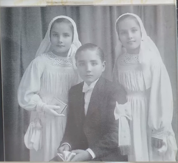 Mirtha, José y Goldie