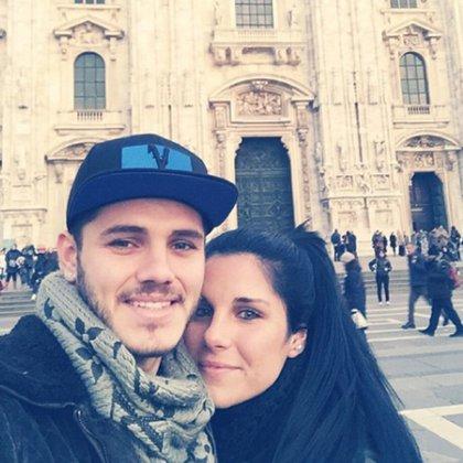 Ivana junto a su hermano Mauro