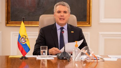 El presidente de Colombia, Iván Duque (Europa Press)