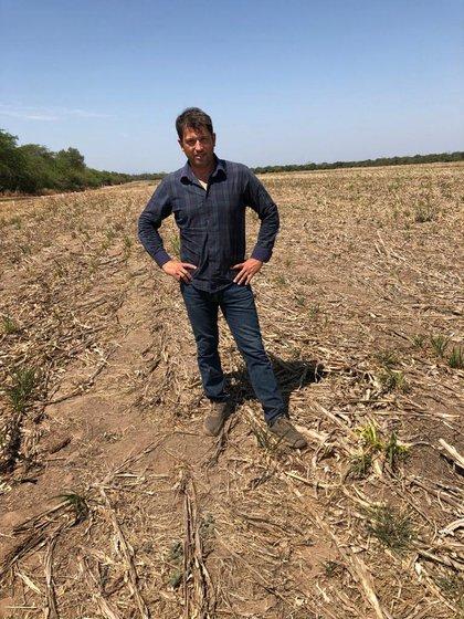 Osvaldo Martín, uno de los productores que impulsó el cierre de cuentas y decidió proceder él mismo