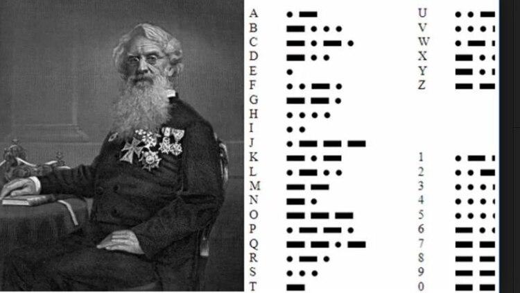 A Samuel F.B. Morse, le tomó seis años más estandarizar un código para comunicarse a través de cables telegráficos.