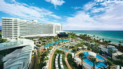 El hotel Fontainebleau de Miami Beach (hotels.com)
