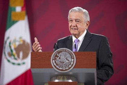 Cuauhtémoc, Ciudad de México, México, 30 de julio de 2020.Andrés Manuel López Obrador, Presidente de México en conferencia de prensa en el Salón Tesorería de Palacio Nacional. Foto: /Presidencia